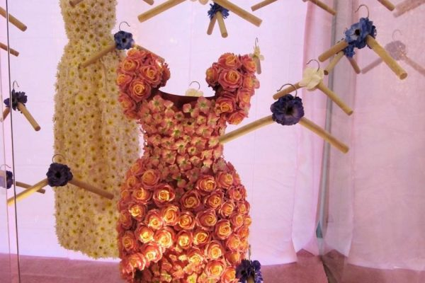 event display flower dress candys international