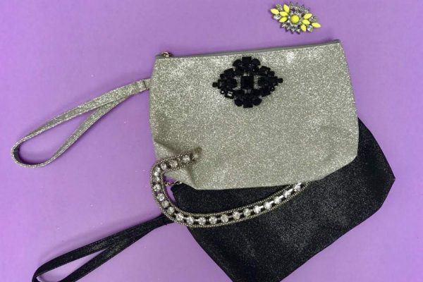 products glitter pochette purses candys international new